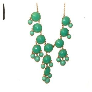 Teal/Green Statement Necklace